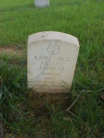 JANICKI (VETERAN WWII), LAWRENCE ALBERT - Pulaski County, Arkansas | LAWRENCE ALBERT JANICKI (VETERAN WWII) - Arkansas Gravestone Photos