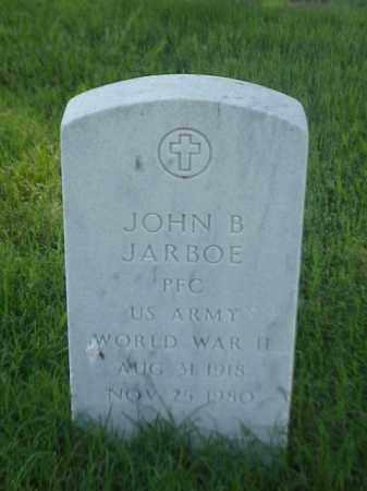 JARBOE (VETERAN WWII), JOHN B - Pulaski County, Arkansas | JOHN B JARBOE (VETERAN WWII) - Arkansas Gravestone Photos