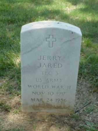 JARED (VETERAN WWII), JERRY - Pulaski County, Arkansas | JERRY JARED (VETERAN WWII) - Arkansas Gravestone Photos