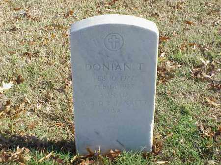 JARRETT, DONIAN T - Pulaski County, Arkansas | DONIAN T JARRETT - Arkansas Gravestone Photos