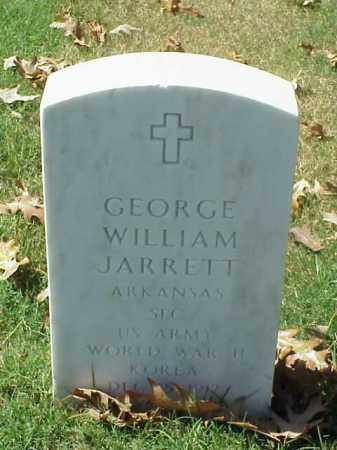 JARRETT (VETERAN 2 WARS), GEORGE WILLIAM - Pulaski County, Arkansas | GEORGE WILLIAM JARRETT (VETERAN 2 WARS) - Arkansas Gravestone Photos