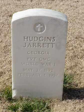 JARRETT (VETERAN WWI), HUDGINS - Pulaski County, Arkansas   HUDGINS JARRETT (VETERAN WWI) - Arkansas Gravestone Photos