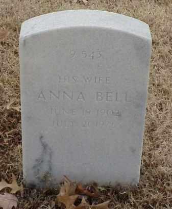 JARRY, ANNA BELL - Pulaski County, Arkansas | ANNA BELL JARRY - Arkansas Gravestone Photos
