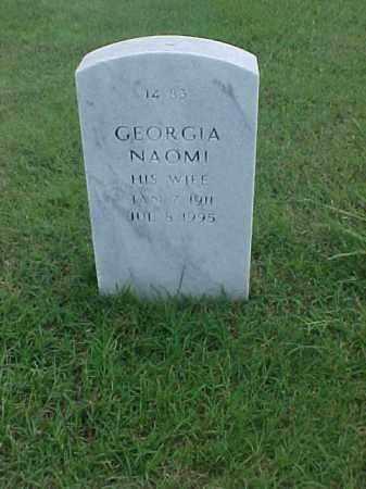 JARVIS, GEORGIA NAOMI - Pulaski County, Arkansas | GEORGIA NAOMI JARVIS - Arkansas Gravestone Photos