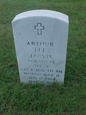 JARVIS (VETERAN WWII), ARTHUR LEE - Pulaski County, Arkansas   ARTHUR LEE JARVIS (VETERAN WWII) - Arkansas Gravestone Photos