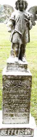 JEFFERSON, JAMMIE LOUISA - Pulaski County, Arkansas   JAMMIE LOUISA JEFFERSON - Arkansas Gravestone Photos