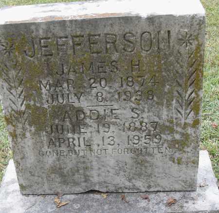 JEFFERSON, JAMES H - Pulaski County, Arkansas | JAMES H JEFFERSON - Arkansas Gravestone Photos