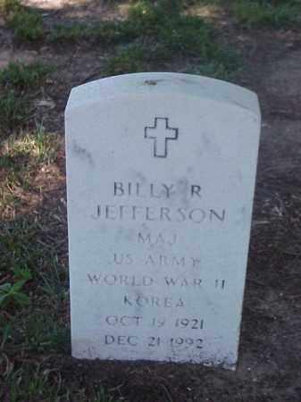 JEFFERSON (VETERAN 2 WARS), BILLY R - Pulaski County, Arkansas | BILLY R JEFFERSON (VETERAN 2 WARS) - Arkansas Gravestone Photos