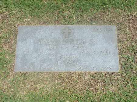 JEFFREY, JR (VETERAN VIET), HOSEA - Pulaski County, Arkansas | HOSEA JEFFREY, JR (VETERAN VIET) - Arkansas Gravestone Photos