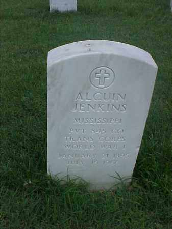 JENKINS (VETERAN WWI), ALCUIN - Pulaski County, Arkansas | ALCUIN JENKINS (VETERAN WWI) - Arkansas Gravestone Photos