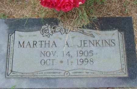 JENKINS, MARTHA  A. - Pulaski County, Arkansas | MARTHA  A. JENKINS - Arkansas Gravestone Photos