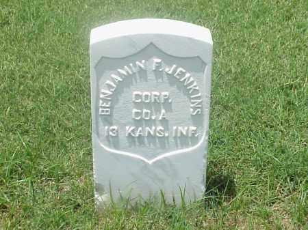 JENKINS (VETERAN UNION), BENJAMIN F - Pulaski County, Arkansas   BENJAMIN F JENKINS (VETERAN UNION) - Arkansas Gravestone Photos