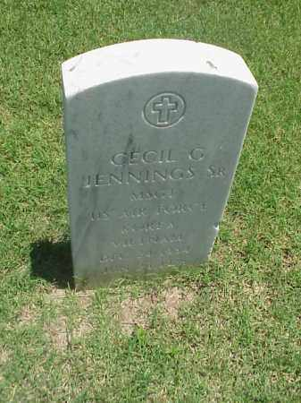 JENNINGS, SR (VETERAN 2 WARS), CECIL G - Pulaski County, Arkansas   CECIL G JENNINGS, SR (VETERAN 2 WARS) - Arkansas Gravestone Photos