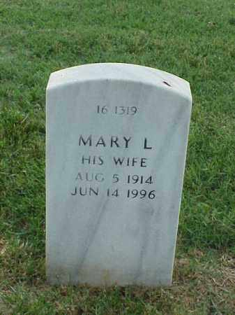 JENSEN, MARY L - Pulaski County, Arkansas | MARY L JENSEN - Arkansas Gravestone Photos