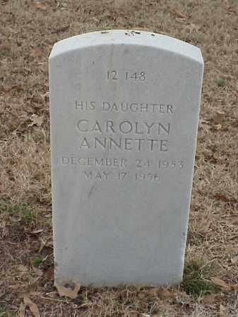 JETER, CAROLYN ANNETTE - Pulaski County, Arkansas | CAROLYN ANNETTE JETER - Arkansas Gravestone Photos