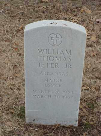 JETER, JR (VETERAN), WILLIAM THOMAS - Pulaski County, Arkansas | WILLIAM THOMAS JETER, JR (VETERAN) - Arkansas Gravestone Photos
