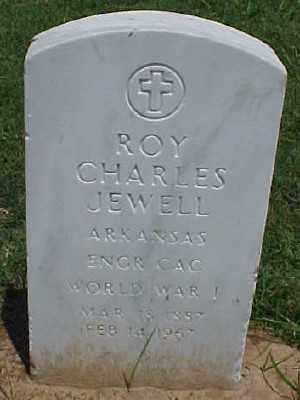 JEWELL (VETERAN WWI), ROY CHARLES - Pulaski County, Arkansas | ROY CHARLES JEWELL (VETERAN WWI) - Arkansas Gravestone Photos