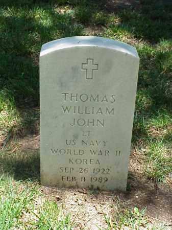 JOHN (VETERAN 2 WARS), THOMAS WILLIAM - Pulaski County, Arkansas | THOMAS WILLIAM JOHN (VETERAN 2 WARS) - Arkansas Gravestone Photos