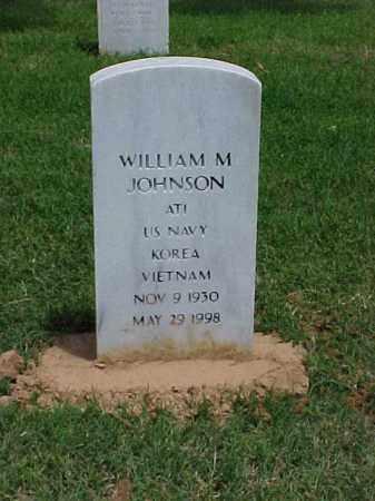 JOHNSON (VETERAN 2 WARS), WILLIAM M - Pulaski County, Arkansas | WILLIAM M JOHNSON (VETERAN 2 WARS) - Arkansas Gravestone Photos