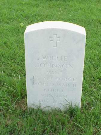 JOHNSON (VETERAN 3 WARS), WILLIE - Pulaski County, Arkansas   WILLIE JOHNSON (VETERAN 3 WARS) - Arkansas Gravestone Photos