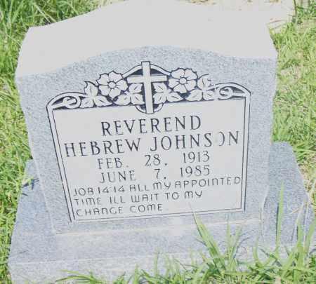 JOHNSON, REV. HEBREW - Pulaski County, Arkansas | REV. HEBREW JOHNSON - Arkansas Gravestone Photos