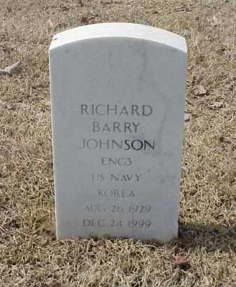 JOHNSON  (VETERAN KOR), RICHARD BARRY - Pulaski County, Arkansas | RICHARD BARRY JOHNSON  (VETERAN KOR) - Arkansas Gravestone Photos