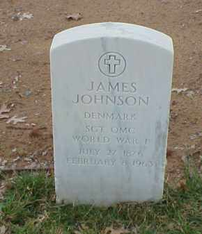 JOHNSON  (VETERAN WWI), JAMES - Pulaski County, Arkansas | JAMES JOHNSON  (VETERAN WWI) - Arkansas Gravestone Photos