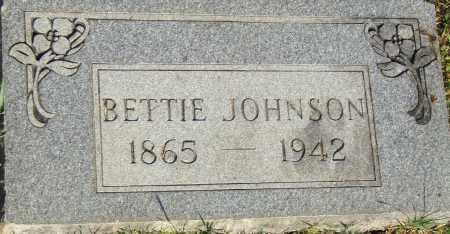 JOHNSON, BETTIE - Pulaski County, Arkansas | BETTIE JOHNSON - Arkansas Gravestone Photos