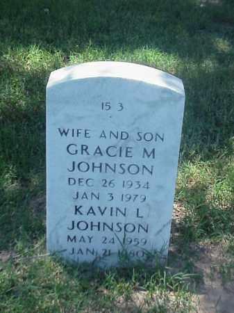 JOHNSON, GRACIE M - Pulaski County, Arkansas | GRACIE M JOHNSON - Arkansas Gravestone Photos