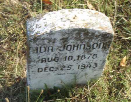 JOHNSON, IDA - Pulaski County, Arkansas | IDA JOHNSON - Arkansas Gravestone Photos