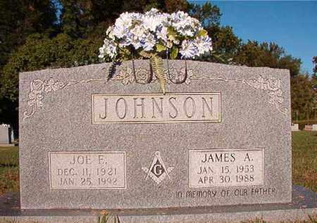 JOHNSON, JAMES A - Pulaski County, Arkansas | JAMES A JOHNSON - Arkansas Gravestone Photos