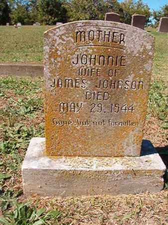 JOHNSON, JOHNNIE - Pulaski County, Arkansas | JOHNNIE JOHNSON - Arkansas Gravestone Photos