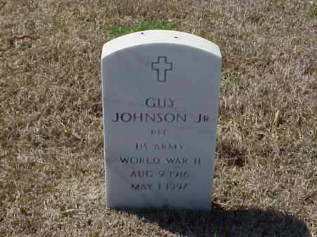 JOHNSON, JR (VETERAN WWII), GUY - Pulaski County, Arkansas | GUY JOHNSON, JR (VETERAN WWII) - Arkansas Gravestone Photos