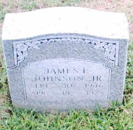 JOHNSON, JR., JAMES E. - Pulaski County, Arkansas | JAMES E. JOHNSON, JR. - Arkansas Gravestone Photos