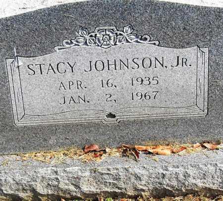 JOHNSON, JR, STACY - Pulaski County, Arkansas | STACY JOHNSON, JR - Arkansas Gravestone Photos