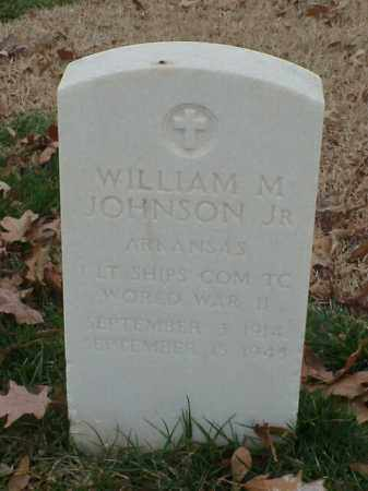 JOHNSON, JR (VETERAN WWII), WILLIAM M - Pulaski County, Arkansas | WILLIAM M JOHNSON, JR (VETERAN WWII) - Arkansas Gravestone Photos