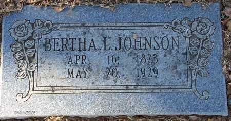 JOHNSON, LORA BERTHA LEE - Pulaski County, Arkansas | LORA BERTHA LEE JOHNSON - Arkansas Gravestone Photos