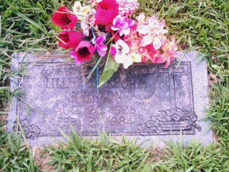 KEOWN JOHNSON, LILLIE - Pulaski County, Arkansas   LILLIE KEOWN JOHNSON - Arkansas Gravestone Photos