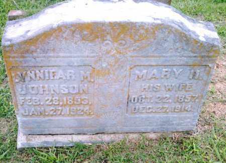 JOHNSON, LYNNIEAR M. - Pulaski County, Arkansas   LYNNIEAR M. JOHNSON - Arkansas Gravestone Photos