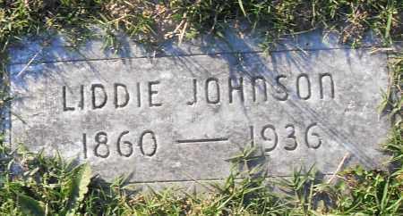 JOHNSON, LIDDIE - Pulaski County, Arkansas | LIDDIE JOHNSON - Arkansas Gravestone Photos
