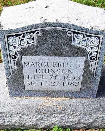 JOHNSON, MARGUERITE T - Pulaski County, Arkansas | MARGUERITE T JOHNSON - Arkansas Gravestone Photos