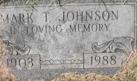 JOHNSON, MARK T - Pulaski County, Arkansas | MARK T JOHNSON - Arkansas Gravestone Photos