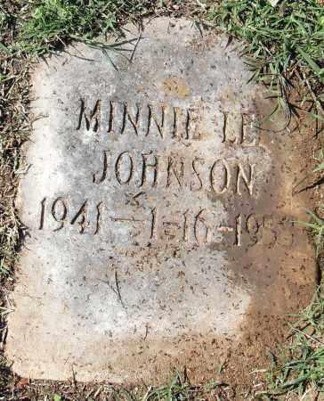 JOHNSON, MINNIE LEE - Pulaski County, Arkansas | MINNIE LEE JOHNSON - Arkansas Gravestone Photos