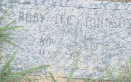JOHNSON, RUBY  LEE - Pulaski County, Arkansas   RUBY  LEE JOHNSON - Arkansas Gravestone Photos
