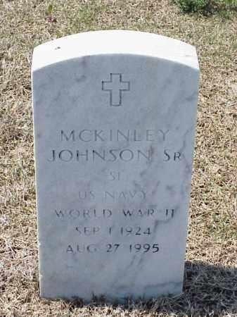 JOHNSON, SR (VETERAN WWII), MCKINLEY - Pulaski County, Arkansas | MCKINLEY JOHNSON, SR (VETERAN WWII) - Arkansas Gravestone Photos
