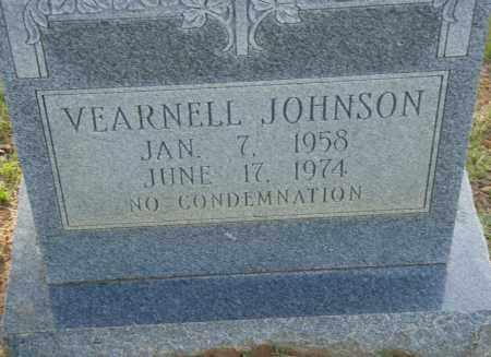 JOHNSON, VEARNELL - Pulaski County, Arkansas | VEARNELL JOHNSON - Arkansas Gravestone Photos