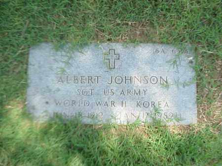 JOHNSON (VETERAN 2 WARS), ALBERT - Pulaski County, Arkansas | ALBERT JOHNSON (VETERAN 2 WARS) - Arkansas Gravestone Photos