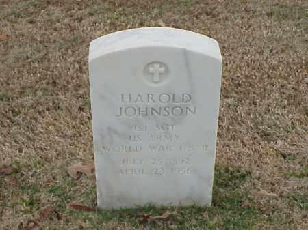 JOHNSON (VETERAN 2 WARS), HAROLD - Pulaski County, Arkansas | HAROLD JOHNSON (VETERAN 2 WARS) - Arkansas Gravestone Photos