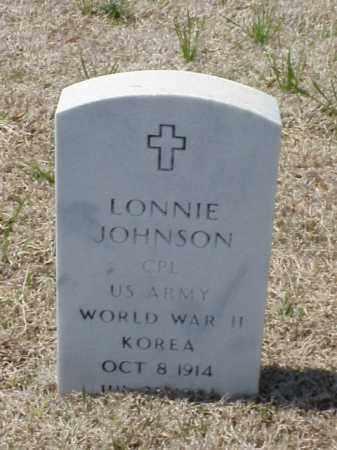 JOHNSON (VETERAN 2 WARS), LONNIE - Pulaski County, Arkansas   LONNIE JOHNSON (VETERAN 2 WARS) - Arkansas Gravestone Photos
