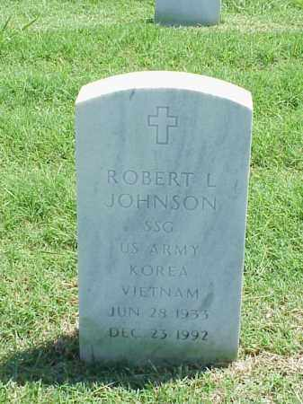 JOHNSON (VETERAN 2 WARS), ROBERT L - Pulaski County, Arkansas | ROBERT L JOHNSON (VETERAN 2 WARS) - Arkansas Gravestone Photos